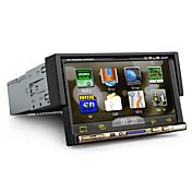 7 Inch 1Din Car DVD Player with GPS Bluetooth TV RDS
