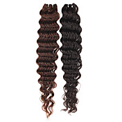 28 Inch Curly European Remy Hair Weave Hair Extension