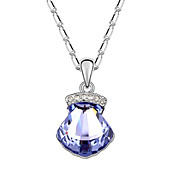 Gorgeous High Quality Alloy And Crystal Necklaces (More Colors)