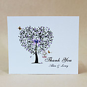 Thank You Card - Tree Of Heart - Set Of 50