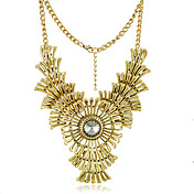 Gorgeous Rhinestone Alloy Platinum Necklace (More Colors)