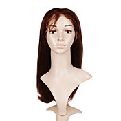 Lace Front 100% Indian Remy Hair Long Straight Hair Wig