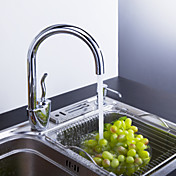 Sprinkle® by Lightinthebox - Contemporary Solid Brass Kitchen Faucet Chrome Finish