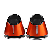 Bass, High-quality Mini-USB Stereo Computer Speakers