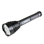 uniquefire uf-s7 5 modos-lanterna com 7 x cree xm-l u2 led (2x18650)