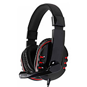 Kanen Stereo Headphone Headset with Mic for Gamers (Assorted Colors)
