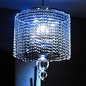 3 - Light Pendant Lights with Bubble Design Pole