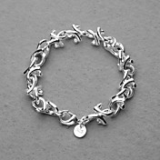 Beautiful Silver Plated Branches Women's Bracelet