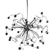 Lmpara Chandelier Moderna de Cristal con 15 Bombillas - MEADE