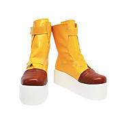 Cosplay Boots Inspired by Dragon Ball Trunks Yellow Platform