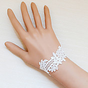 Handmade White Flower Hedge Lace Sweet Lolita Bracelet