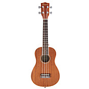 toukaki - (uk23cs-w) sapele ukulele concerto com bag / correia