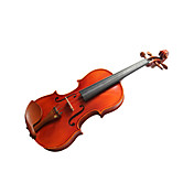 violintine - (v12) 1/2  haute teneur en pica massif et 1-pice pour violon en rable flamm avec tui / arc