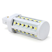 G24 8W 36x5050 SMD 500-600LM 6000-6500K Natural White Light LED Bulb (220V)