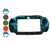 Dual Color Protective Silicon Case for PS Vita (Assorted Color)