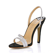 Beautiful Sparkling Glitter Stiletto Heel Sandals Party/Evening Shoes