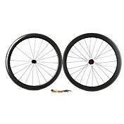 Supernova - 50mm Carbon Fiber Tube Road fiets wielstellen met CCC-serie