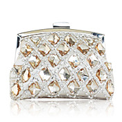 Elegant Satin with Crystal Evening Handbags/Clucthes(More Colors)