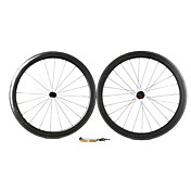 Supernova - 700C Toray T700 Carbon Tubular Hjulsett (50mm, 1420 J-bend snakket)