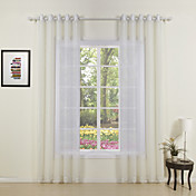 (Two Panels) Otto Classic Sheer Curtains