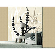 Botanical Floral Contemporary Graphics Nature Mural