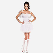 Sexy Mujer White Angel Halloween Costumes