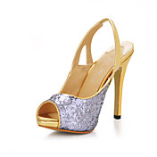 Beautiful Sparkling Glitter Stiletto Heel Pumps Party/Evening Shoes