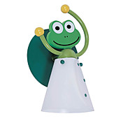 40W Applique da parete di ferro per bambini con 1 Luce in Frog Design