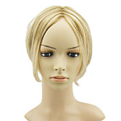 Lace Front Short Straight Dirty Blonde Hair Wig