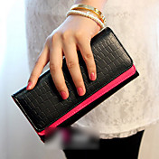 Lady's Contrast Color Wallet