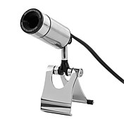 Metal Bullet USB Webcam med 2MP sensor