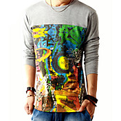 Men's Trendy Print T-shirt