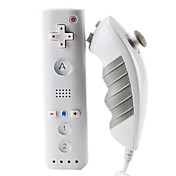 Mini MotionPlus Remote and Nunchuk Controller for Wii/Wii U (White)