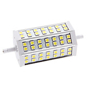 R7S 9W 42x5050 SMD 540-630LM 6000-6500K Natural White Light LED Corn Bulb (85-265V)
