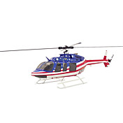 Bell 407 Size TRUE SCALE 470 Stars and Stripes KIT Helicopter