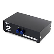 AV Video Audio RCA 2 Ports Splitter Switch Box