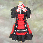 Cosplay Costume Inspired by Macross Series Sheryl Nome Red and Black Dress