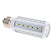 E27 9W 44x7020 SMD 880-910LM 7000-7500K Cool White Light LED Corn Bulb (220V)