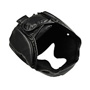 Boxing Free Combat Enclosed Protective Helmet (Black)