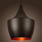 Artistic Pendant Light in Black Shade