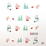 Christmas Series 3D Nail Sticker