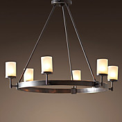 60W E27 Retro Pendent Light with 6 Lights