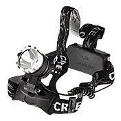3-Mode Cree XM-L T6 LED Headlamp (1800LM, 2x18650)