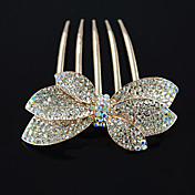 Handmade Golden 7cm Bow Aristocrat Lolita Headdress