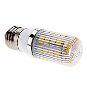 E27 7W 36x5050 SMD 700-750LM 2700-3200K Warm White Light LED Corn Bulb (85-265V)