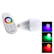 E27 6W 500-600LM RGB Light LED Ball Bulb (85-265V)