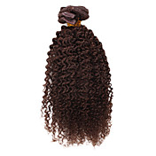 "100% Indian Remy Hair 18"" Little Curl Clips In Hair Extensions Multiple Colors To Choose"