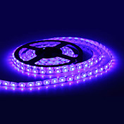 Waterproof 5M 300x5050 SMD Blue Light LED Strip Lamp (12V)