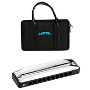 EASTTOP - (T002-7) 7-Professional Blues Harp Pack with Tailoring Reeds