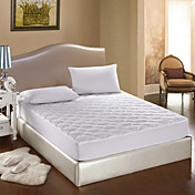 Cotton Percel With Diamond Quilting Mattress Pad